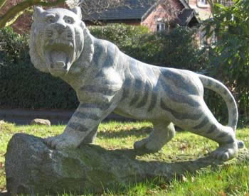Trevor the Tiger - Garden Ornament